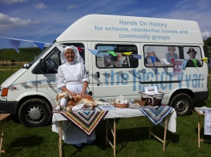 The History Van at Litton WWI Great War Commemoration Day 2014