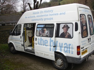 The History Van - storage & transport for a mass of original and replica items that help to bring the past to life!