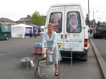 The History Van at Buxton Town Fair 2014