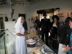 Jenny Bland at Crich National Tramway Museum, WWI Day 2014