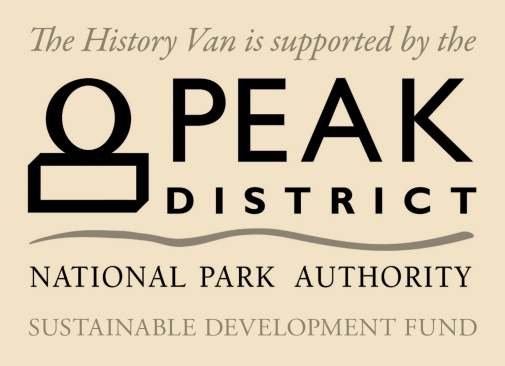 The History Van is supported by the Peak District National Park Authority Sustainable Development Fund