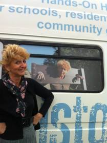 Radio Stoke photo of Jenny Bland and The History Van