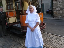 First World War VAD Nurse Norton at Crich National Tramway Museum
